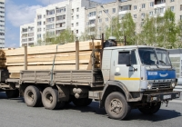 Бортовой грузовой автомобиль КамАЗ-53212 #Х 122 ТН 96 . Тюмень, улица Федюнинского