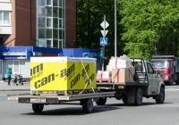 Грузовой автомобиль УАЗ-23602 Cargo #С 111 СМ 72 с прицепом АХ 6845 72. Тюмень, улица Холодильная