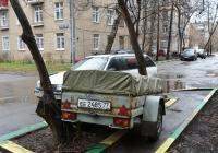 Прицеп автомобильный #ЕЕ 2485 77. Москва, Коптевская улица