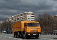 Аварийная водоканала ДКТ-275 на шасси КамАЗ-65115 #Т 356 ТО 77. Москва, Ленинградское шоссе