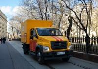 "Фургон ГУП ""Мосгортранс"" на шасси ГАЗ-С42R33 #У 806 ТУ 777. Москва, Покровский бульвар"
