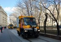 Локомобиль-автомастерская МосГорТранса на базе Mercedes-Benz Unimog U400L #Т 635 УН 777. Москва, Покровский бульвар