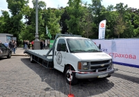 Эвакуатор Chevrolet Silverado 3500 #СА 9111 ВЕ. Харьковская область, г. Харьков, площадь Свободы