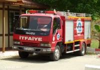 Пожарный автомобиль на шасси Isuzu NQR 30. Turkey, Antalya, Hesapçı Sk. Kaleiçi İtfaiye