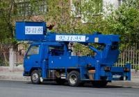 Автовышка на шасси Mitsubishi Fuso Canter #Р 886 КТ 72 . Тюмень, улица Николая Чаплина