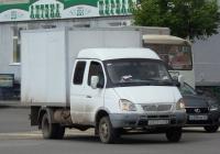 """Фургон 370540 на шасси ГАЗ-33023 """"Газель"""" #O 828 KE 45.  Курган, улица Куйбышева"""