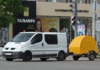 Renault Trafic 2.0 DCI 90 #C 383 HC 55.  Курган, улица Ленина