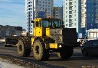 Трактор К-701 со снегоуборочным отвалом #9475 МС 22. Алтайский край, Барнаул, Власихинская улица