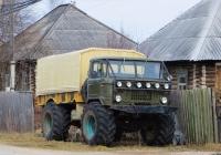 Грузовой автомобиль ГАЗ-66. Свердловская область, пос.Калья, улица 40 лет октября