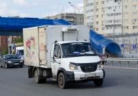 Фургон на шасси ГАЗ-3310 Валдай #К 614 ОУ 72 . Тюмень, улица Федюнинского