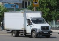 "Фургон 2824FS на шасси ГАЗ-C41R11 ""ГАЗон NEXT"" #Т 572 МА 45. Курган, улица Куйбышева"