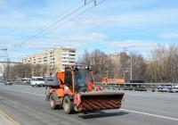 Коммунальная уборочная машина BUCHER. Москва, Ленинградское шоссе
