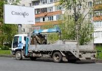 Бортовой автомобиль с КМУ Isuzu Forward #В 644 ТА 72 . Тюмень, улица Николая Чаплина