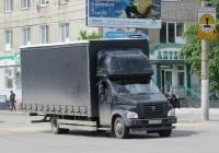 Фургон на шасси ГАЗон NEXT #Х 727 УТ 777 . Курган, улица Куйбышева