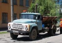 Дорожная машина на шасси ЗиЛ-431412. Волгоградская область, Фролово, Народная улица