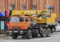 "Автокран КС-55713-5 ""Галичанин"" на шасси КамАЗ-43118-15 #C 627 EA 45. Курган, улица Климова"