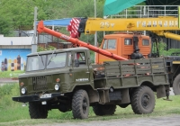 Буровая машина БМ-202 на шасси ГАЗ-66-12 #Т 601 ВУ 45. Курган, улица Климова