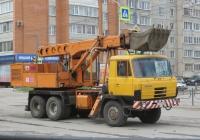 Экскаватор-планировщик UDS-114 на шасси Tatra 815 #Е 777 КК 45. Курган, улица Куйбышева