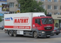 Изотермический фургон Schmitz Cargobull M.KO 7.7 FP 25 на шасси MAN TGS 28.360 #А 161 КР 37. Курган, улица Куйбышева