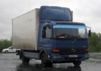 """Фургон на шасси Mercedes-Benz Atego #О 868 МО 152 . Тюмень, парковка ТРЦ """"Панама"""""""