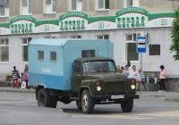 Аварийно-ремонтная машина водоканала на шасси ГАЗ-52-04 #Х 999 КЕ 45. Курган, улица Куйбышева