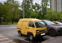 Микроавтобус Daewoo Damas #Е 257 ХО 777. Москва, улица Зои и Александра Космодемьянских