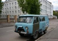 Грузопассажирский фургон УАЗ-3909 #У 828 ММ 750. Москва, Коптевский бульвар