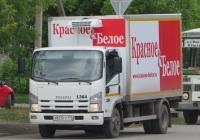 Фургон на шасси Isuzu NP #У 823 ТТ 174. Шадринск, улица Карла Либкнехта
