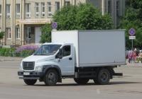 Фургон на шасси ГАЗ-C41R13 #Х 033 МА 45. Шадринск, улица Свердлова