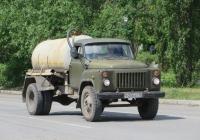 Ассенизационная машина КО-503В на шасси ГАЗ-53-19 #У 206 ВХ 45. Шадринск, улица Свердлова