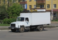 Фургон 28181-0000010-13 на шасси ГАЗ-3309 #М 633 ЕМ 45. Шадринск, улица Карла Либкнехта