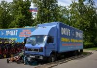 Фургон на шасси MAN #А 151 УА 99. Москва, Проспект Мира