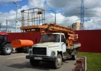 Автовышка (автоподъёмник) на шасси ГАЗ-3307 #О 430 РК 199. Москва, Локомотивный проезд