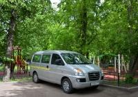 Микроавтобус Hyundai H1 #Х 036 ТК 177. Москва, Большая Академическая улица