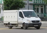 Фургон на шасси Mercedes-Benz Sprinter 315CDI #Е 085 КЕ 45. Курган, улица Куйбышева