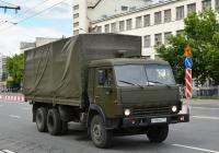 Тентованный грузовой автомобиль КамАЗ-53215 #Х 988 НМ 777. Москва, Хорошевское шоссе