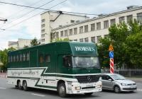 Цельнометаллический фургон на шасси Mercedes-Benz #Е 029 МЕ 90. Москва, Хорошевское шоссе