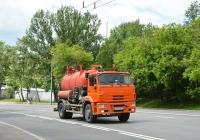 Илососная машина на шасси КамАЗ-53605 #У 233 СЕ 197. Москва, Хорошевское шоссе