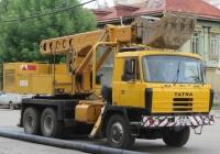 Экскаватор-планировщик UDS-114 на шасси Tatra T815 #Т 009 КК 45. Курган, улица Куйбышева