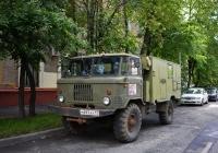 Фургон на шасси ГАЗ-66-14 #М 693 АХ 97 . Москва, 6-й Новоподмосковный переулок