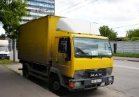 Фургон на шасси MAN #А 871 ВК 177  . Москва, улица Космонавта Волкова