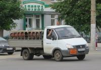 """Автомобиль для перевозки сжиженного газа на шасси ГАЗ-3302 """"Газель"""" #О 263 КХ 45. Курган, улица Куйбышева"""