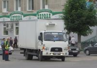 Фургон Hyundai HD78 #В 554 МА 45. Курган, улица Ленина