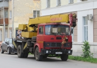 Автокран КС-3577-4 на шасси МАЗ-5337 #К 153 ЕК 45. Курган, улица Максима Горького