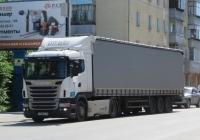 Седельный тягач Scania R380 #Р 488 МХ 116. Курган, улица Ленина