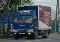 Фургон на шасси JAC HFC1045K2 #Е 373 ХК 72 . Тюмень, улица Тимуровцев