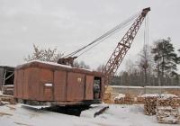 Кран погрузочно-разгрузочный торфяной КПТ-1. Рязанская область, п.Болонь