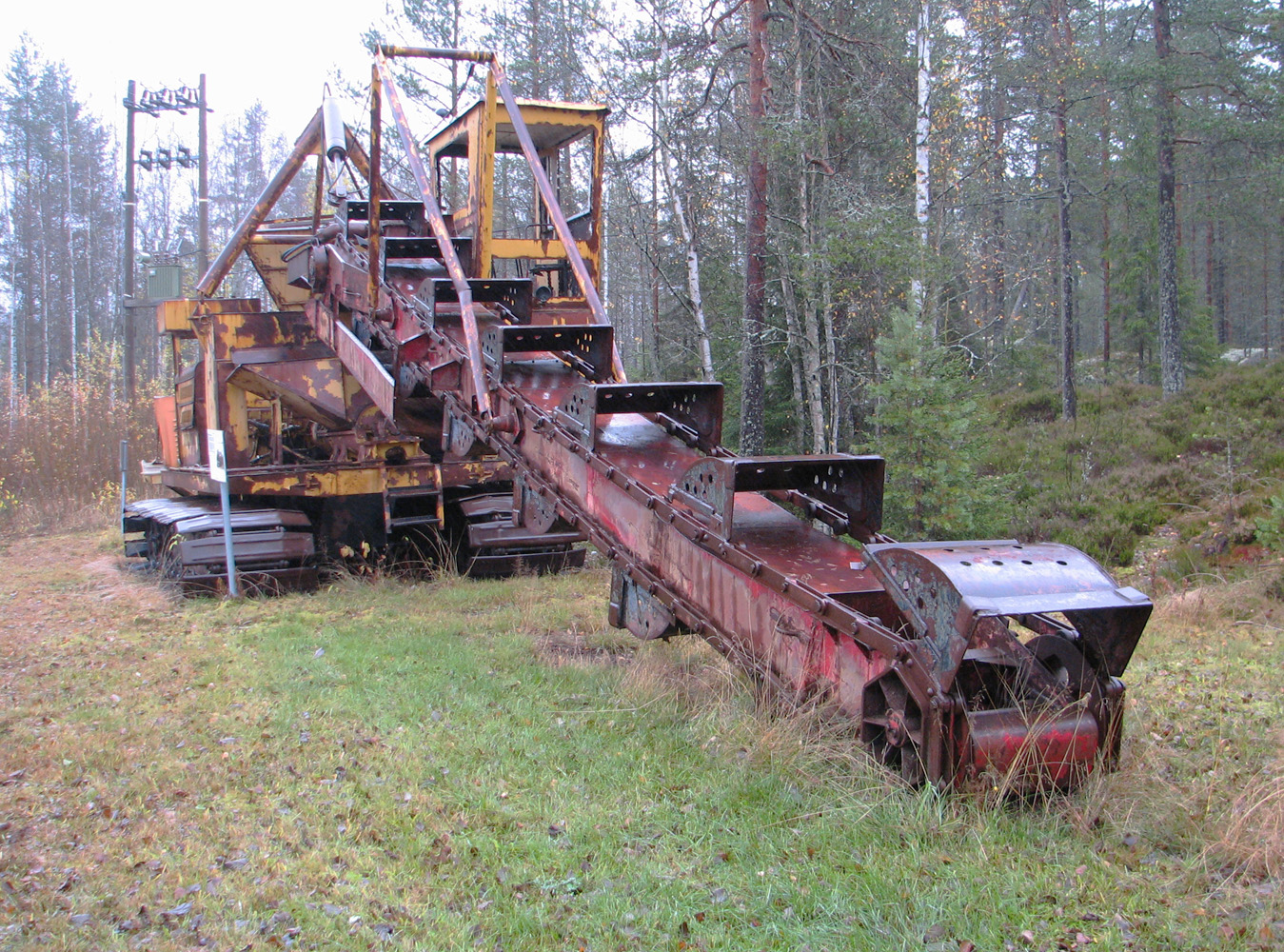 Экскаватор МТК-14А. Финляндия, Айтонева