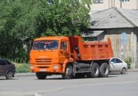 Самосвал КамАЗ-45147 #К 563 МВ 45. Курган, улица Савельева