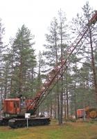 Экскаватор ТЭ-3М. Финляндия, Айтонева